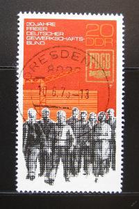 DDR 1975 Německé odbory Mi# 2054 0974