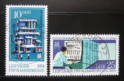 DDR 1974 Lipský veletrh Mi# 1931-32 0973