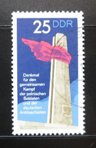 DDR 1972 Anti-fašistický monument Mi# 1792-97 0972
