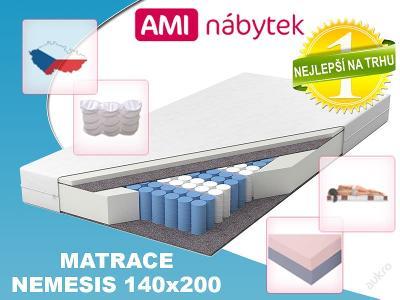 9 zónová taštičková matrace NEMESIS 140x200