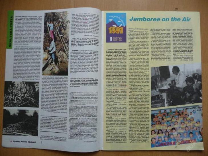 Časopis - JUNÁK - číslo 15-16 ze srpna roku 1992 - Vojenské