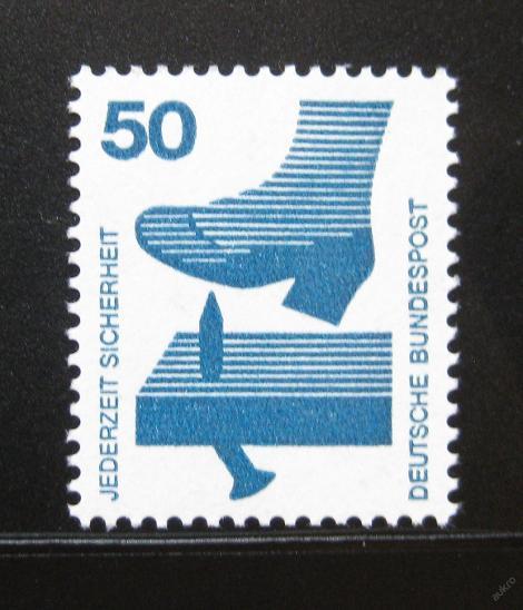Německo 1973 Prevence před nehodami Mi# 700 0111 - Filatelie