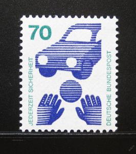 Německo 1973 Prevence před nehodami Mi# 773 0111