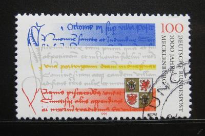 Německo 1995 Meklenbursko milénium Mi# 1782 0114