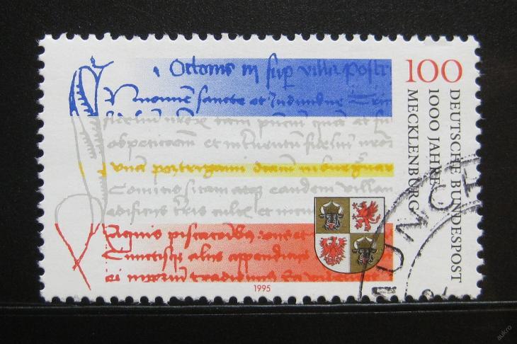 Německo 1995 Meklenbursko milénium Mi# 1782 0114 - Filatelie