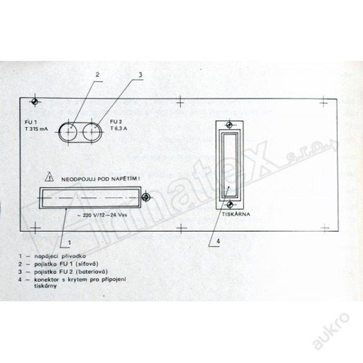 Vyhodnocovací přístroj VDD 80 chemický VDD-80 - Vojenské
