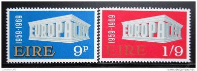 Irsko 1969 Evropa CEPT Mi# 230-31 0024