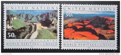 OSN New York 1992 Světové dědictví Mi# 625-26 0019