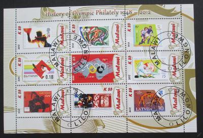 Malawi 2012 Historie olymp. filatelie Mi# 1034