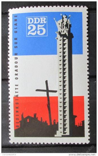 DDR 1966 Památník obětí války Mi# 1206 1048 - Filatelie