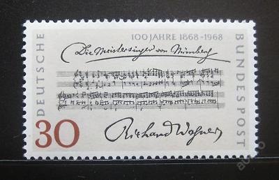 Německo 1968 Richard Wagner Mi# 566 1054
