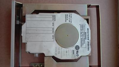 """40MB ! d. PATA(IDE) 3.5"""" WD pro sběratele testovaný s redukcí na 5.25"""