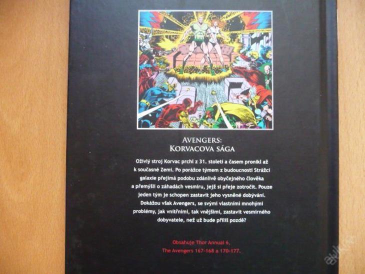 UKK - číslo 119 - AVENGERS: Korvacova sága - Komiksy