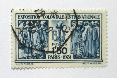 Francie 1931 Koloniální výstava Mi# 262 0462