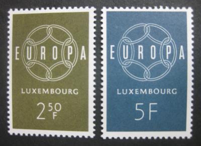 Lucembursko 1959 Evropa CEPT Mi# 609-10 0444