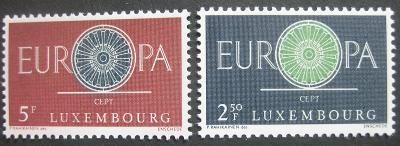 Lucembursko 1960 Evropa CEPT Mi# 629-30 0444