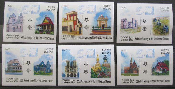 Laos 2005 Evropa CEPT Mi# 1973-78 B Kat 25€ 0460 - Filatelie