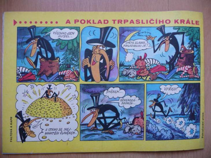 Časopis - OHNÍČEK - ročník XXIII. č.6 z roku 1972 - Časopisy