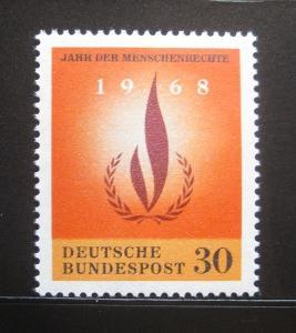 Německo 1968 Lidská práva Mi# 575 0830