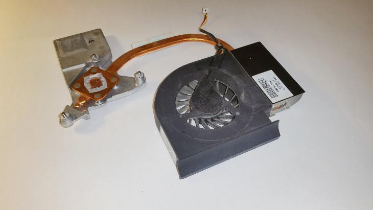 Chlazení 534675-001  z HP Presario CQ61 - Notebooky, příslušenství