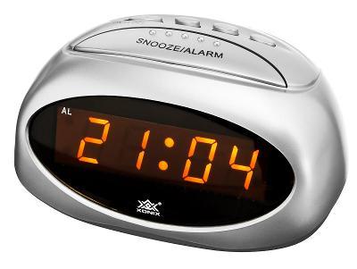 Kompaktní budík XONIX, digitální, alarm + snooze
