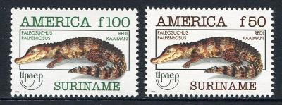 Surinam 1993 Kajmani Mi# 1455-56 Kat 15€ 0727