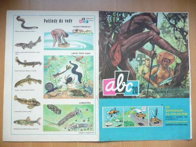 Časopis - ABC - ročník 14. - číslo 20. z roku 1970