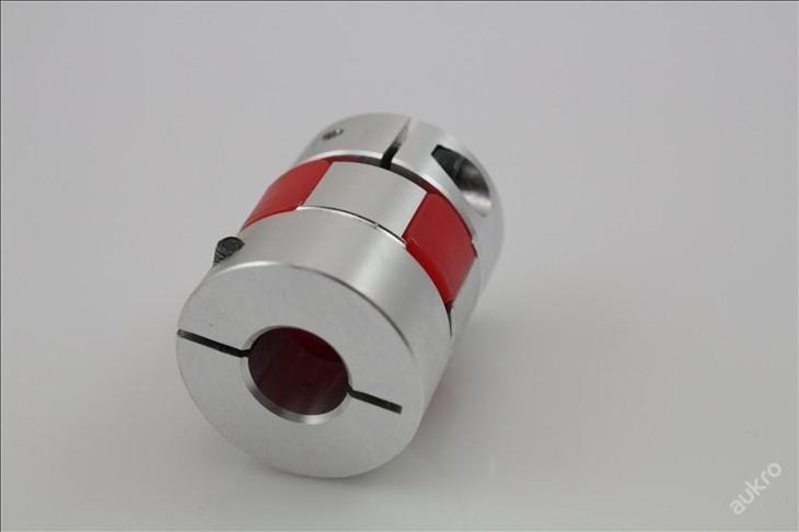 Pružná spojka 10/10mm, svěrná, pryž,pr.25x30 CNC - Průmysl