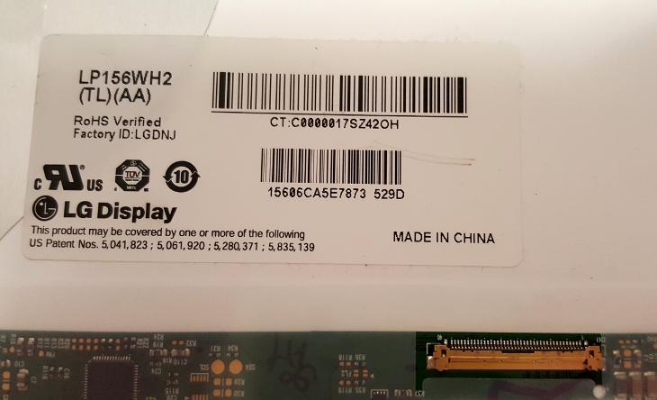 "LG display 15,6"" LP156WH2 (TL)(AA) - DEFEKT - Notebooky, příslušenství"