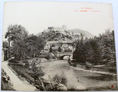 Francie, Lourdes, Lurdy pohled 28,5x23 cm