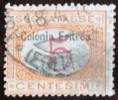 Eritrea 1903 Doplatní, přetisk Mi# 1 I 25€ 1003