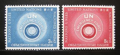 OSN New York 1957 Pohotovostní síly Mi# 57-58 0539