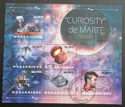 Mozambik 2012 Průzkum Marsu Mi# 6265-70 14€ SLEVA