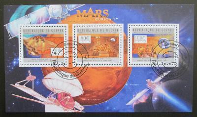 Guinea 2012 Průzkum Marsu Mi# 9440-42 18€ SLEVA