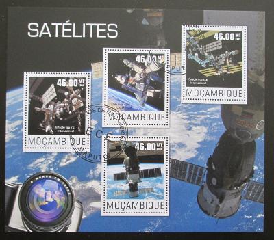 Mozambik 2014 Satelity Mi# N/N SLEVA