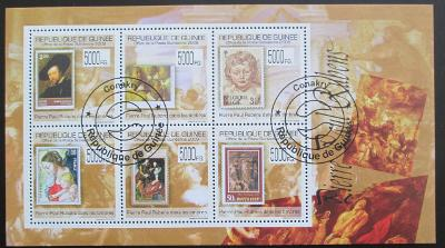 Guinea 2009 Umění, Rubens Mi# 7058-63 12€ 1304