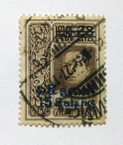 Thajsko, Siam 1914 Král Vajiravudh Mi# 115 0923