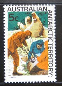 Aust. Antarktida 1968 Rybáři Mi# 11 2.20€ 0990A