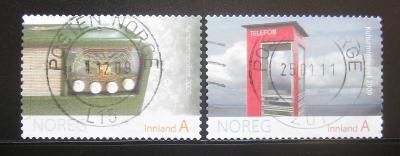 Norsko 2009 Kulturní dědictví Mi# 1691-92 0365