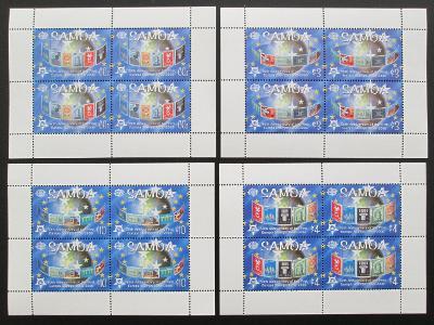 Samoa 2005 Výročí Evropa CEPT Mi# 1020-23 60€ 0456