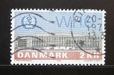 Dánsko 1972 Budova WHO, Kodaň Mi# 531 0996B
