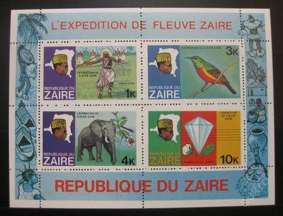 Zair 1979 Expedice po řece SC# 905a 330Kc 0020