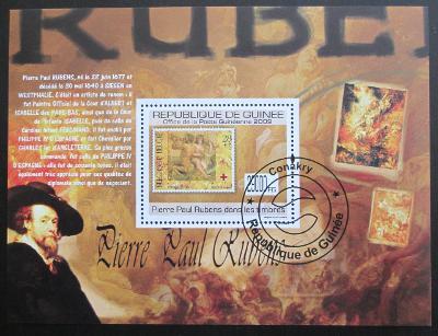 Guinea 2009 Rubens na známkách Mi# Bl 1770 1297