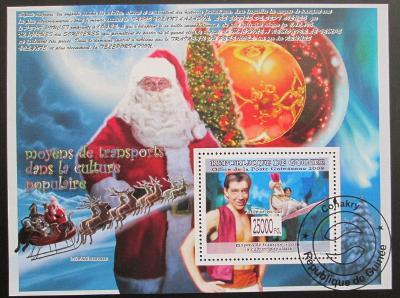 Guinea 2008 Vánoce Mi# Bl 1569 Kat 10€