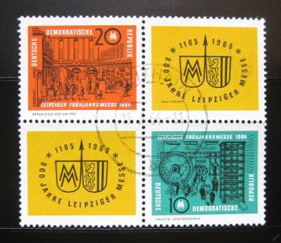 DDR 1964 Lipský veletrh Mi# 1012-13 0978