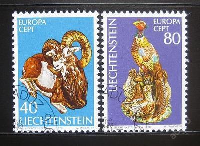 Lichtenštejnsko 1976 Evropa CEPT Mi# 642-43 0757