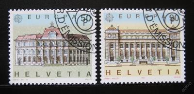 Švýcarsko 1990 Evropa CEPT Mi# 1415-16 0878