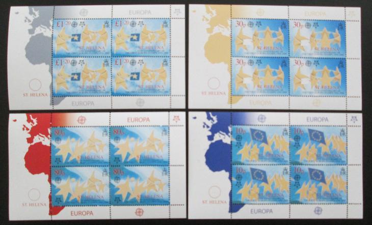 Svatá Helena 2006 Evropa CEPT Mi# 961-64 48€ 0431 - Filatelie