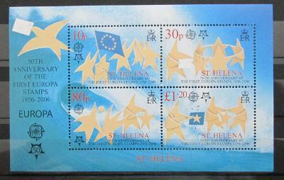 Svatá Helena 2006 Evropa CEPT Mi# Bl 40 12€ 0431