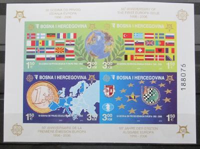 Bosna 2005 Výročí Evropa CEPT Mi# Bl 27 B 60€ 0432